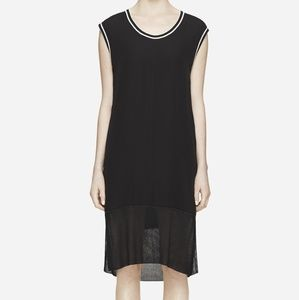 Rag and Bone Dana Silk midi dress